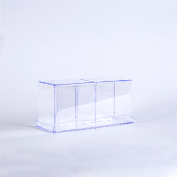 Ultra Pro 4-Compartment Clear Card Box
